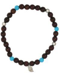Tamara Comolli Turquoise And Snakewood India Bracelet - Metallic