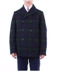 Camplin Outerwear Short Blue And Green