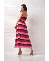 Cecilia Prado Amanda Knit Midi Dress - Pink