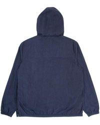 Hikerdelic Conway Smock Jacket Navy - Blue