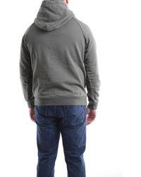 Saucony Military Green Hooded Sweatshirt - Grey