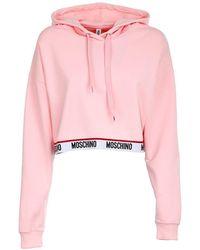 Moschino Sweaters Pink