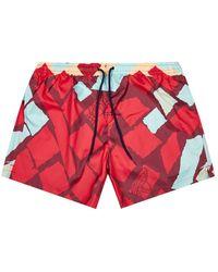 Vivienne Westwood Surf Boxer - Burgundy / - Red