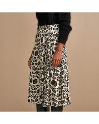Bellerose Hudson Leopard Skirt - Black