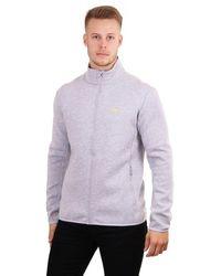 J.Lindeberg Nigel Zip Up Track Jacket - Gray