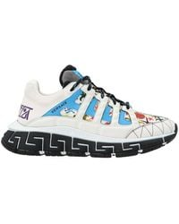 Versace Polyester Sneakers - White