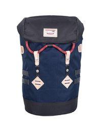 Doughnut Colorado Backpack - Navy X Charcoal - Blue