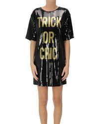 Moschino Sequined Dress - Black