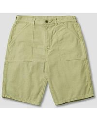 Stan Ray Fat Short - Olive Sateen - Green