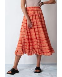 Second Female Santiago Skirt - Orange