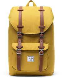 Herschel Supply Co. Little America Canvas Backpack - Yellow