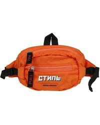 Heron Preston Women's Hwna008e198160111901 Orange Polyamide Belt Bag