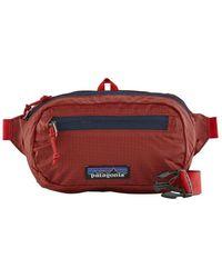 Patagonia Belt Bag Ultralight Black Holeâ® Mini Hip Pack 1l - Rincon Red