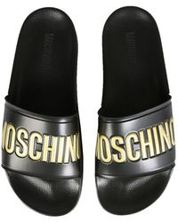 Moschino Other Materials Sandals - Black
