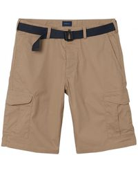 GANT Tech Prep Belted Utility Shorts - Brown