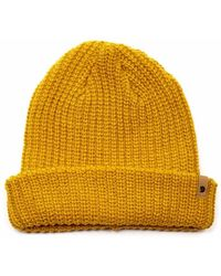 Fjallraven Fjallraven Ovik Melange Beanie Hat - Yellow