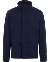 J.Lindeberg J.lindeberg Ted-3l Mech Stretch Jacket - Blue