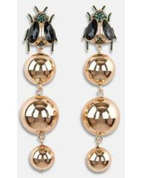 Essentiel Antwerp Antwerp - Ashanti Insect Earring - Metallic