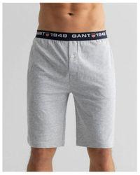 GANT Retro Shield Jersey Shorts Xs - Grey