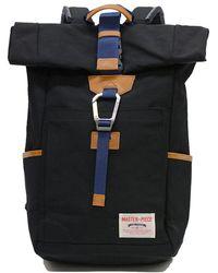 Master Piece Link Rolltop Backpack Black
