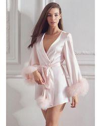 Gilda & Pearl Pillow Talk Robe - Pink