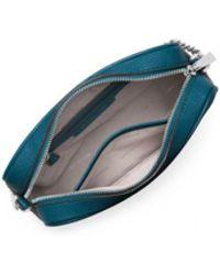 MICHAEL Michael Kors - Michael Kors Teal Ginny Medium Crossbody Bag - Lyst