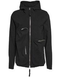 Thom Krom - Men's Msj44711black Black Other Materials Sweatshirt - Lyst