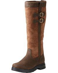 Ariat Ladies Eskdale H2o Boot (regular Calf) - Brown