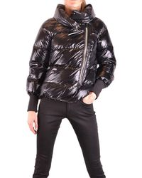 Geospirit Black Polyamide Down Jacket