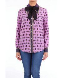 Gucci Shirts Classic Women Fancy Purple