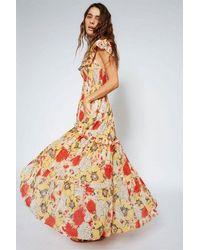 Swildens Barbara Dahlia Print Dress - Multicolour