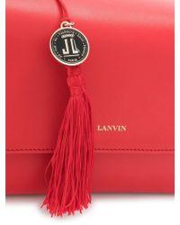 Lanvin Small Sugar Bag - Red