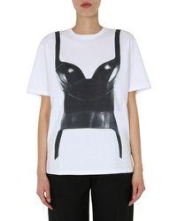 McQ Oversize Fit T-shirt - White
