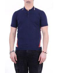 Retois Polo Shirt Short Sleeves - Blue