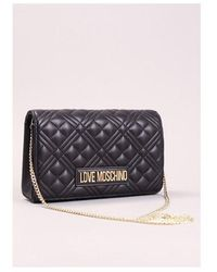 Love Moschino Quilted Small Bag Colour: Black