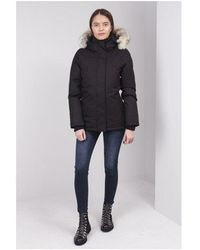 Nobis Lindsay Hip Length Parka Colour: Black