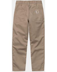 Carhartt Wip Abbott Pant - Leather - Multicolor