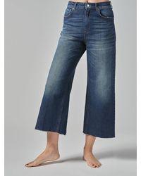 Department 5 Wide Leg Jeans High Life Tv - Blue