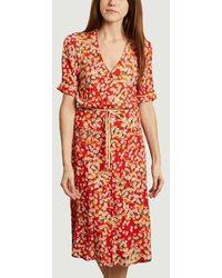La Petite Francaise Resource Dress Petite Fleur Rouge - Red