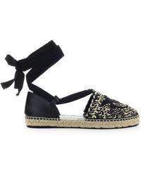 Pinko Low Shoes Espadrilles - Black