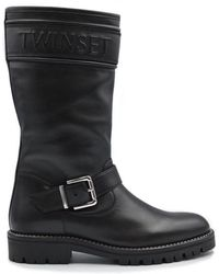 Twin Set Boot - Black