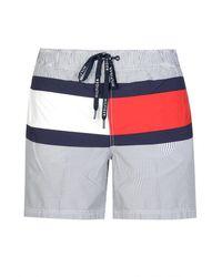 Tommy Hilfiger Block Color Swim Shorts - Blue