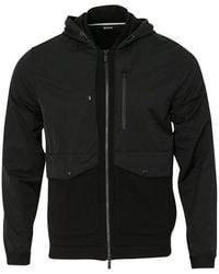 Z Zegna - Hooded Sweatshirt (black) - Lyst