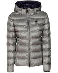 Blauer Usa Coats - Grey