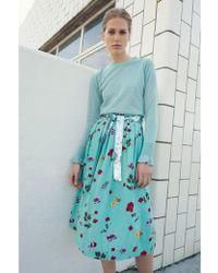Custommade• - Harley Wasabi Green Skirt - Lyst