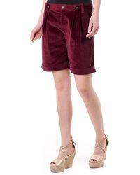 Dolce & Gabbana D&g Womans Shorts - Purple