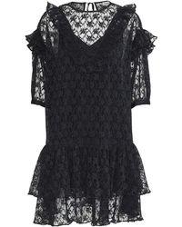 Custommade• Baluna Dress - Anthracite Black