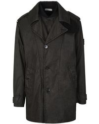 Stone Island Double Front Jacket - Brown