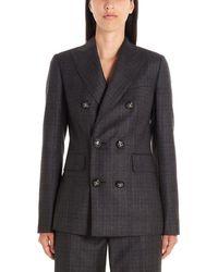 DSquared² S75ft0168s52041001f Wool Dress - Grey