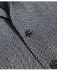 Hackett - Wool Textured Birdseye Suit - Lyst